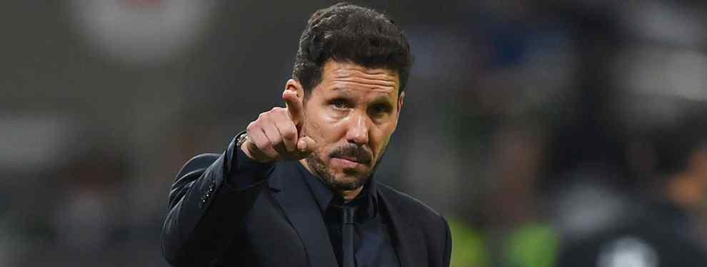 El Cholo Simeone tienta a una de las estrellas de Florentino Pérez para que fiche por el Atlético de Madrid