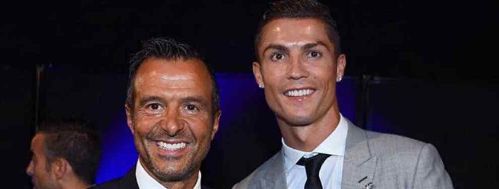Cristiano Ronaldo le dice a Jorge Mendes el equipo por el que quiere fichar (y no te lo vas a creer)