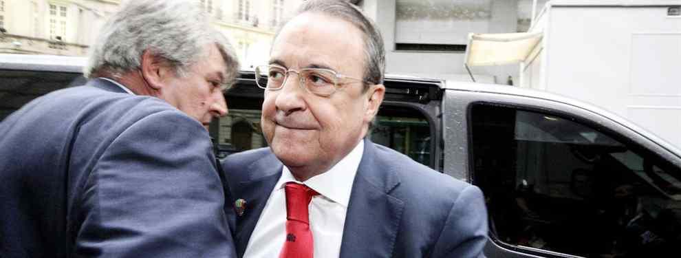 Florentino Pérez tiene sobre la mesa una propuesta espectacular para reforzar al Real Madrid de Zidane