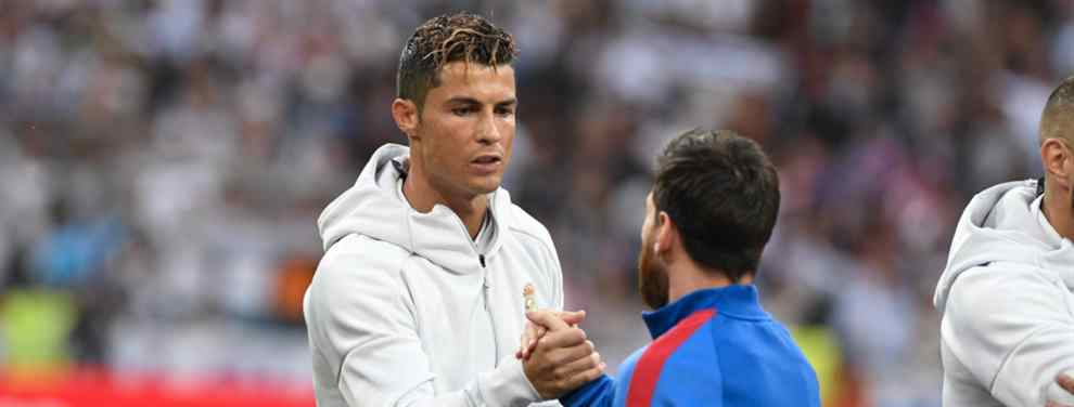 El galáctico que da calabazas a Messi para marcharse con Cristiano Ronaldo al Real Madrid
