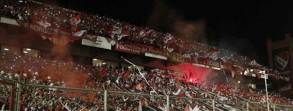 La gente de Independiente empieza a jugar la revancha ante Libertad