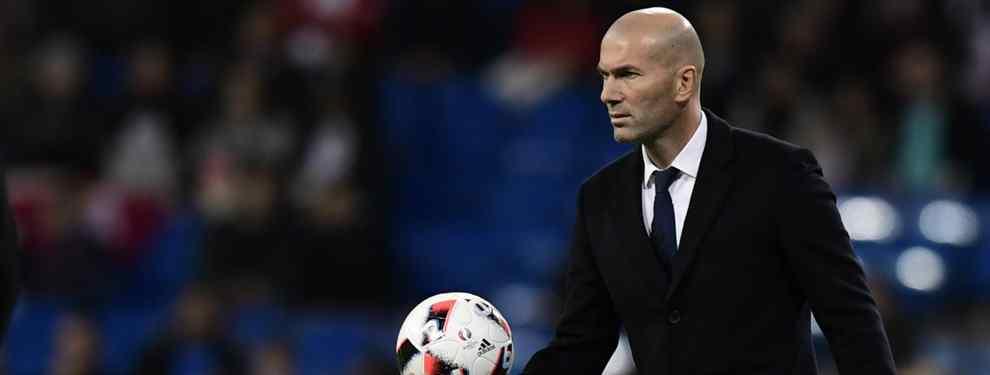 Puñalada a Zidane: el jugador que prepara su salida del Real Madrid a espaldas del club