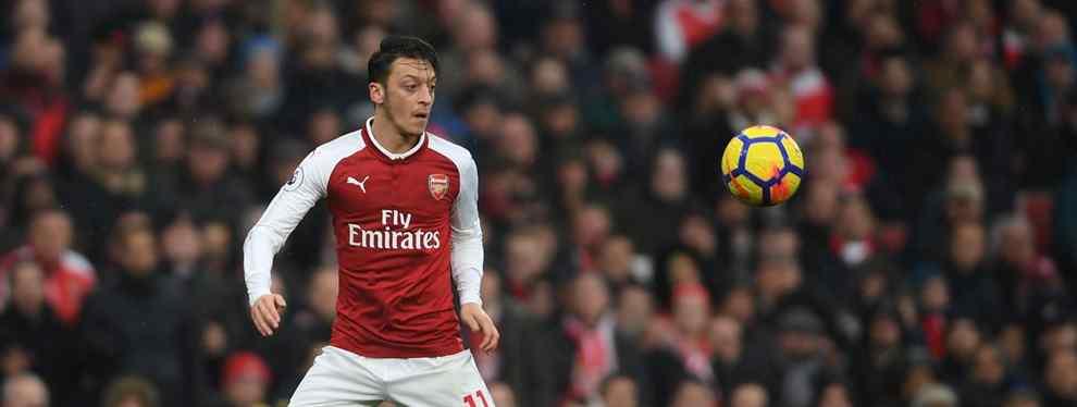 El jugador del Real Madrid que se entromete en el fichaje de Özil por el Barça