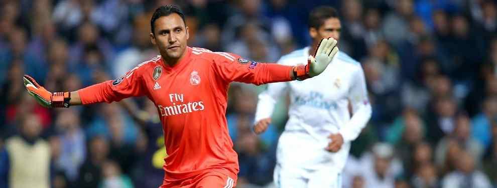 Ni Kepa, ni Courtois, ni De Gea: el plan B del Real Madrid para cargarse a Keylor Navas