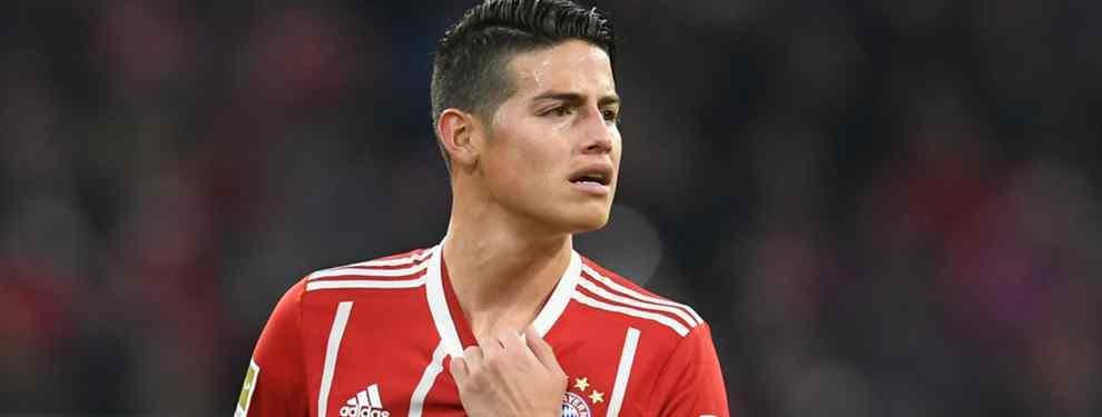 El principal motivo por el que el Bayern de Múnich quiere devolver a James Rodríguez al Real Madrid