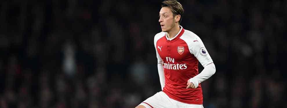 ¡Mesut Özil es el gran 'bombazo' que agitará la Premier League en Navidades!
