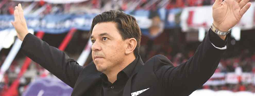 """""""Tenemos que jugar con determinación"""" Gallardo apeló a la cuestión anímica para alcanzar un nuevo título cuando este sábado enfrente a Atlético Tucumán en la final de Copa Argentina"""