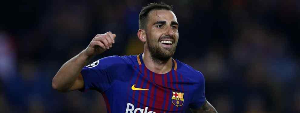 Este conjunto británico tiene sus motivos para lanzarse con todo a por el fichaje de Paco Alcácer, quien está entrando con cuentagotas en los planes de Ernesto Valverde para el Barça