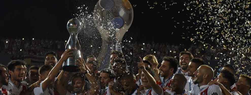 River se consagró nuevamente campeón de la Copa Argentina al vencer en la final a Atlético Tucumán por 2 a 1 en el estadio Malvinas Argentinas, de Mendoza. Ignacio Scocco (10m PT) e Ignacio Fernández (2m ST) marcaron los goles
