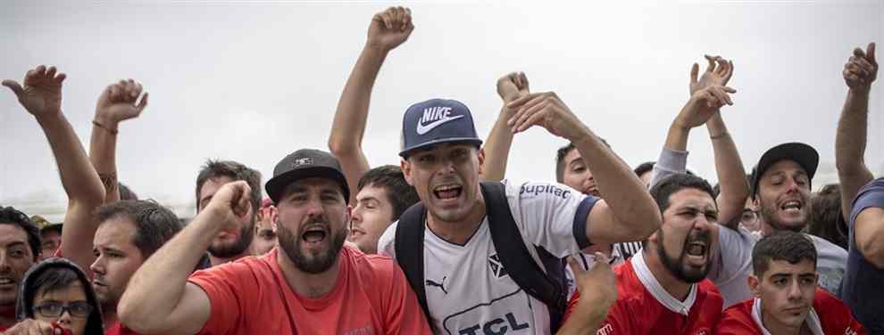 Cacería de hinchas de Independiente en Río de Janeiro