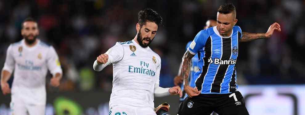 Isco recibe tres ofertas de infarto para dejar el Real Madrid (y se lo piensa)