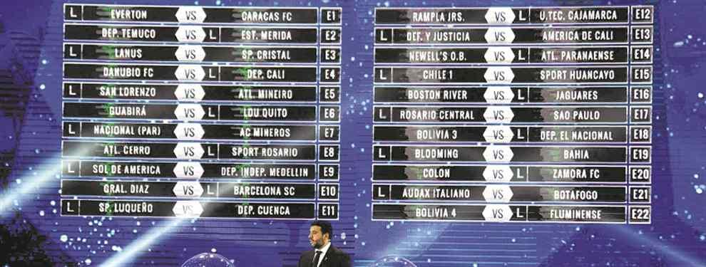 El sorteo de la Copa Sudamericana deparó tres cruces imperdibles entre equipos argentinos y brasileños, donde San Lorenzo, Central y Newells la tienen complicado