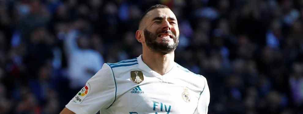 Benzema monta el lío en el Real Madrid con una oferta que deja a Florentino Pérez sin palabras