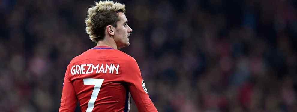 El Atlético de Madrid ha dejado caer un nombre en la negociación por el traspaso del francés Antoine Griezmann que ha tomado completamente por sorpresa al Barça