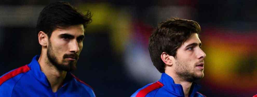 Jorge Mendes tiene entre manos una oferta bestial para sacar a André Gomes del Barça