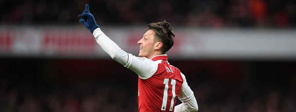 Mesut Özil está ganando enteros para convertirse en el refuerzo del Barça para el centro del campo de cara al mercado de invierno, pero el alemán pone dos condiciones.