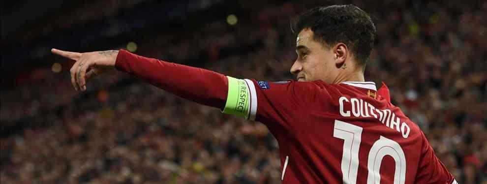 El jugador del Barça que el Liverpool quiere incluir en la Operación Coutinho