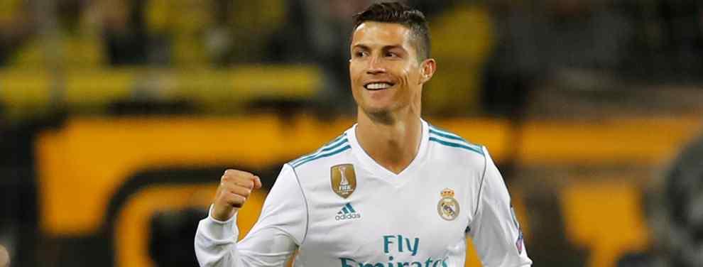 Cristiano Ronaldo, el crack portugués del Real Madrid, cuenta con tres propuestas absolutamente bestiales para dejar tirados a Florentino Pérez y a Zinedine Zidane
