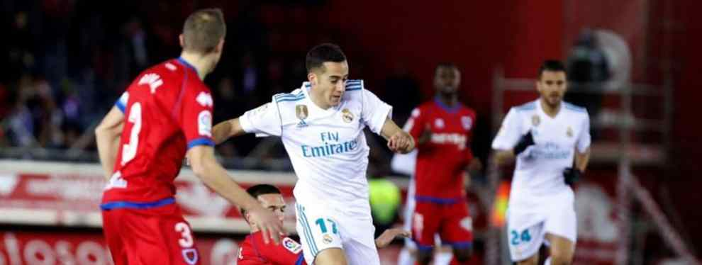 Los blancos superan por 0-3 a los sorianos, pero vuelven a dejar muchas dudas. Dos de los tres goles fueron de penalti, obra de Bale e Isco. Mayoral hizo el tercero. El Madrid pidió la hora ante diez.