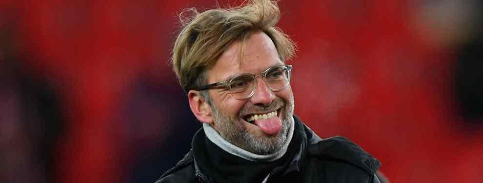 Jürgen Klopp tiene bien claras las posiciones que necesita reforzar en su equipo de cara al segundo tramo de la temporada. Y tiene en mente a un futbolista del campeonato español.