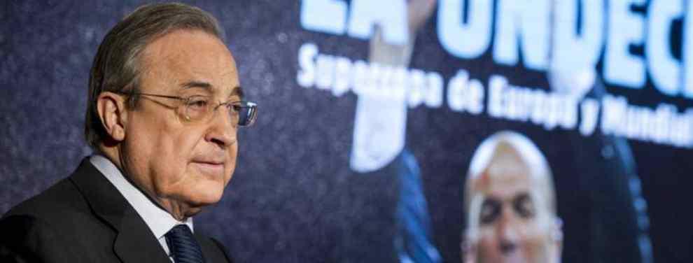 Florentino Pérez recibe una oferta de 95 millones por una estrella del Real Madrid