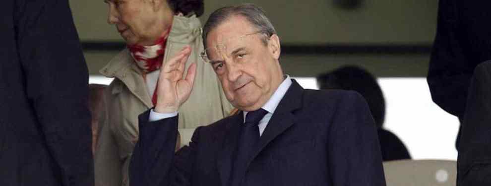 Florentino Pérez revienta el Real Madrid-Numancia con el anuncio de un fichaje bomba