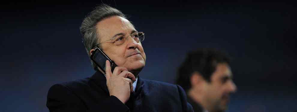 Florentino Pérez prepara un bombazo para el Real Madrid: el dardo definitivo al Barça