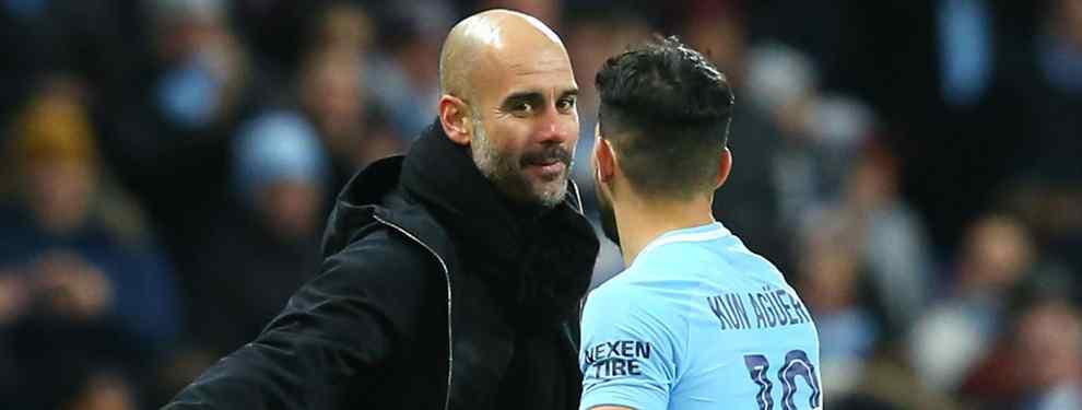 Florentino Pérez negocia con un crack del City de Pep Guardiola (y no es Agüero)