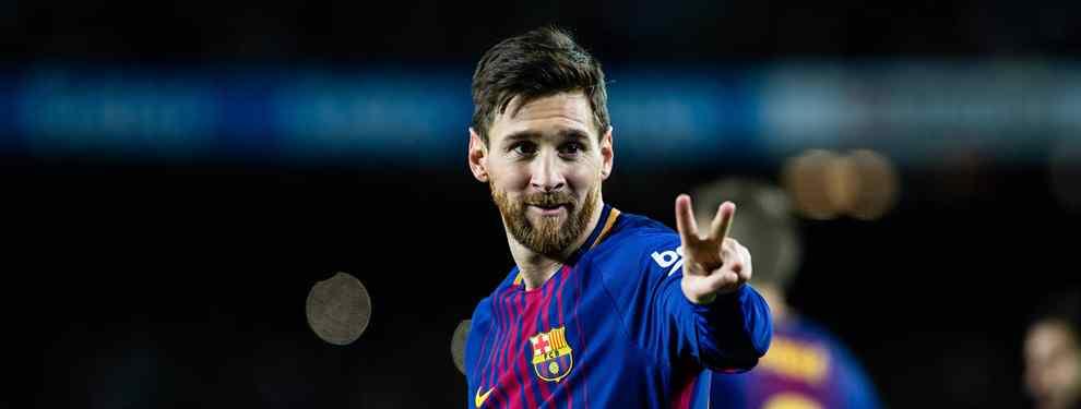 Leo Messi le marca  a la directiva del Barça los dos refuerzos que quiere para la próxima temporada. El argentino se mete en los planes de Florentino Pérez para el Real Madrid.