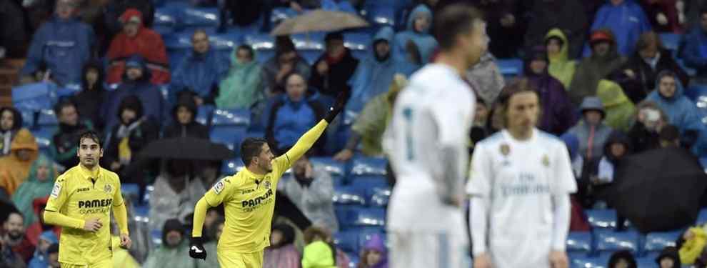 Zidane se harta de un crack del Real Madrid y estalla tras hacer el ridículo ante el Villarreal
