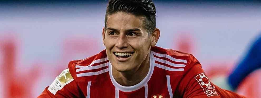 La condición de James Rodríguez para seguir en el Bayern de Múnich a final de temporada