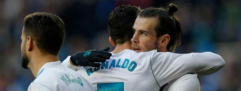 Gareth Bale negocia con cuatro equipos distintos su fuga del Real Madrid