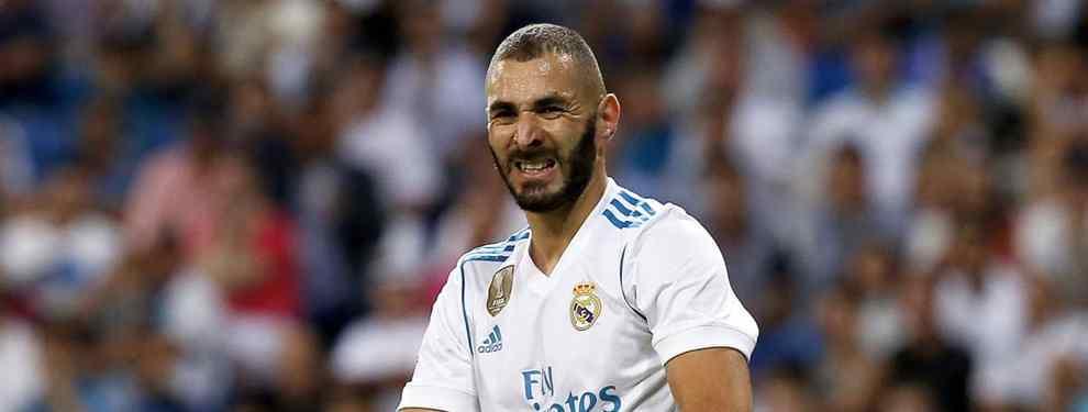 ¿Qué hacemos con Karim? El capricho de Zidane va camino de costarle muy caro al Real Madrid.  La negativa del técnico francés de vender al '9' el pasado verano, cuando su caída a los infiernos era maquillable.