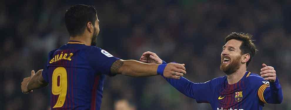 Luis Suárez le ha reconocido a Leo Messi que tiene una oferta sobre la mesa para dejar el Barça en los próximos meses. El uruguayo cumple 31 años este mismo miércoles.
