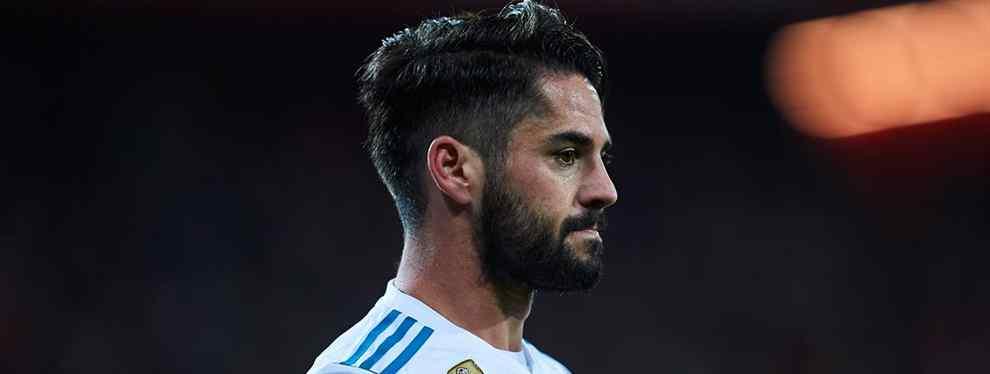 Alarcón se siente traicionado por Florentino Pérez y Zidane que le prometieron un rol principal si se olvidaba del Barça y firmaba su continuidad con el Real Madrid. Isco cumplió, pero el Real, no.