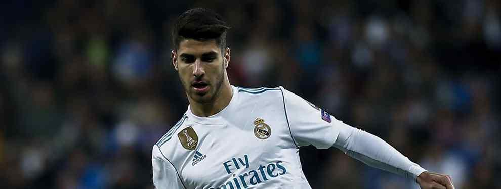 La jugada a tres bandas que acaba con Marco Asensio fuera del Real Madrid