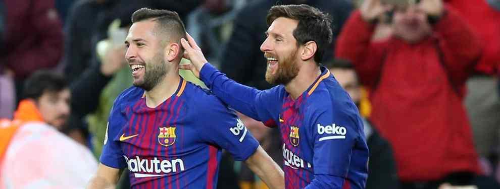 Messi le pasa a Bartomeu la lista de laterales que quiere en el Barça para competir con Jordi Alba