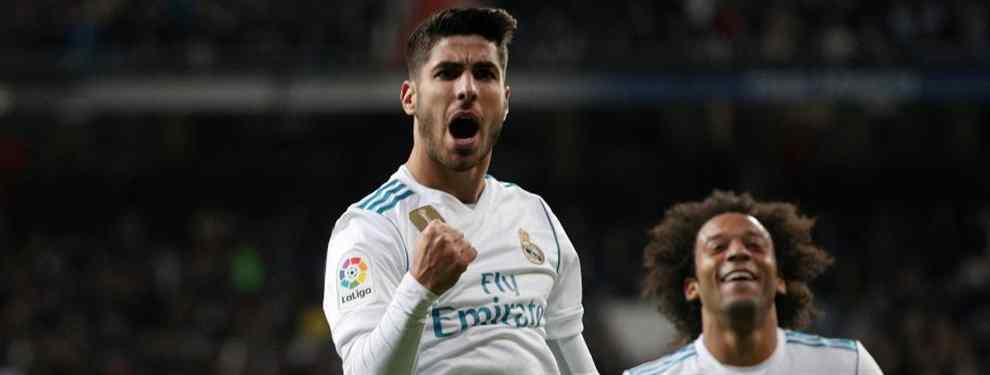 El club dispuesto a pagar 135 millones de euros para llevarse a Marco Asensio del Real Madrid