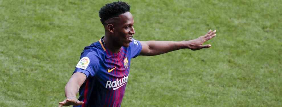 Yerry Mina monta el show en la victoria del Barça ante el Valencia (y Messi se le une)