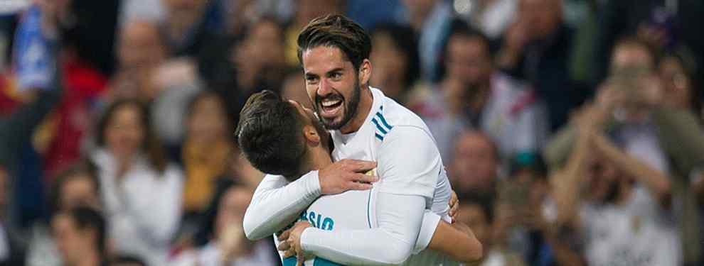 Marco Asensio se va de la lengua: la espectacular oferta que saca a Isco del Real Madrid