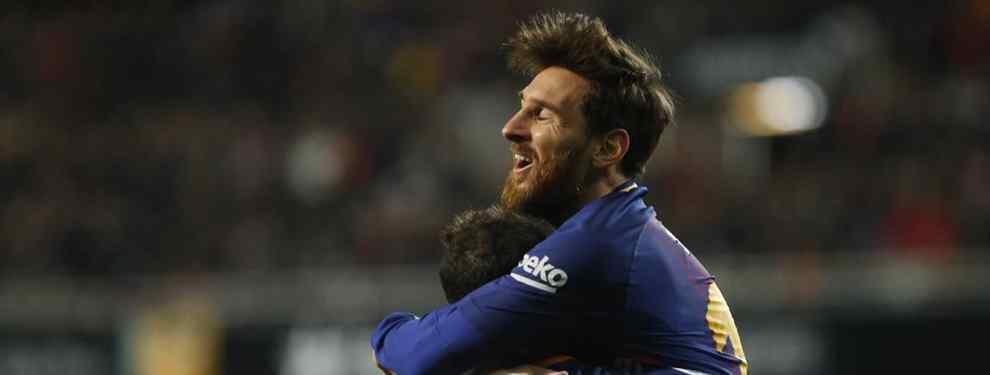 Messi da luz verde a un cambio de cromos galáctico en el Barça