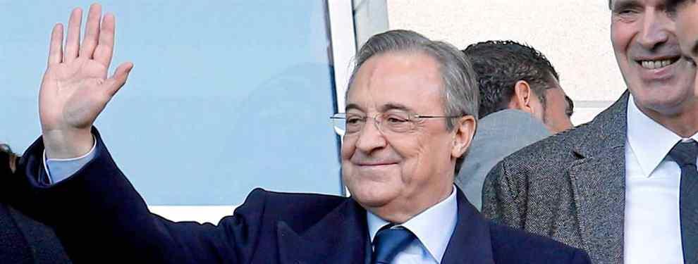 Una destacada estrella del fútbol europeo no quiere saber nada del interés del Manchester United y se pone a tiro del presidente del Real Madrid, Florentino Pérez