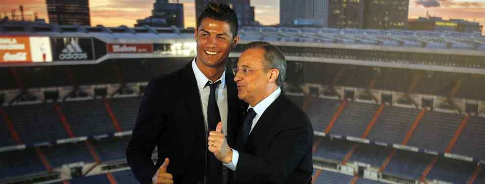 Cristiano Ronaldo alucina con un fichaje de más de 100 millones de euros de Florentino Pérez