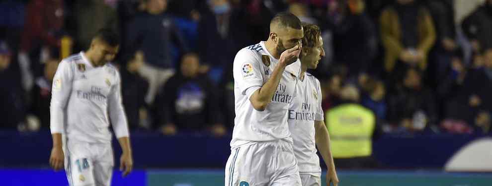 Florentino Pérez prepara tres bombas si el Real Madrid cae ante el PSG en Champions