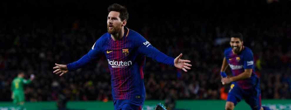 """Messi torpedea un fichaje sonado de Florentino Pérez con un """"lo quiero en el Barça"""""""