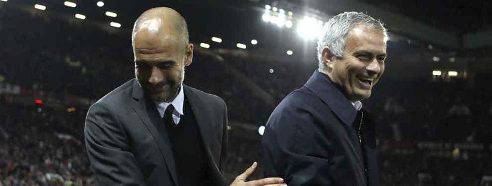 La nueva guerra entre José Mourinho y Pep Guardiola por un crack del Real Madrid