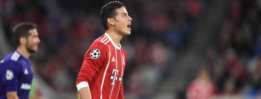 James Rodríguez descuelga el teléfono: la llamada a un crack del Real Madrid en clave PSG