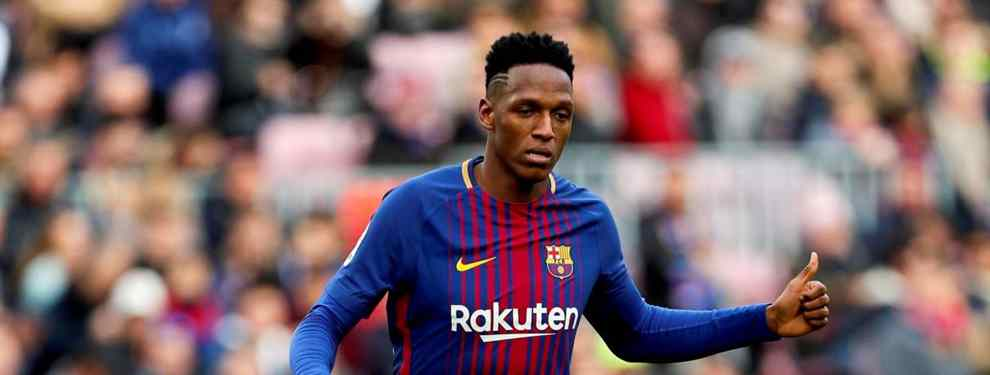 Yerry Mina lo sabe: el drama de un crack del Barça que mete a Messi en un lío muy feo