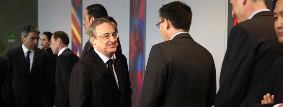 Traición al Barça: el fichaje más loco de Florentino Pérez para el Real Madrid