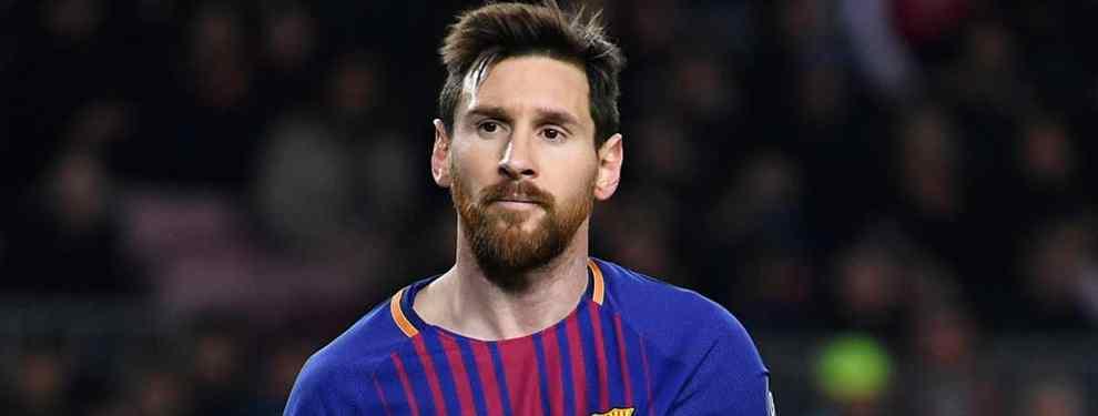 Messi alucina con el fichaje que prepara el PSG si consigue cargarse al Real Madrid